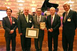 Antonio Cobo premio Líder Europeo en calidad 2011