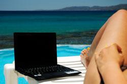 Uso de la tecnología en vacaciones